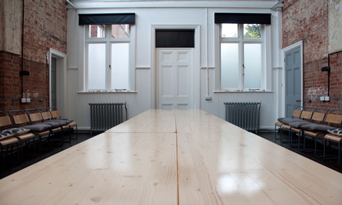 Versatile meeting spaces