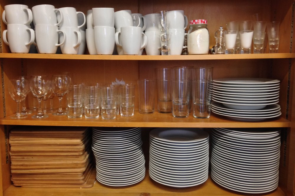 Think Tank crockery for shared meals