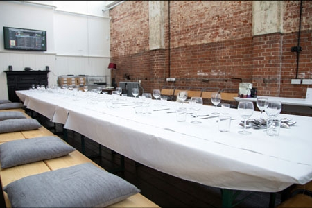 Think Tank set up for a 'Forensic' feast