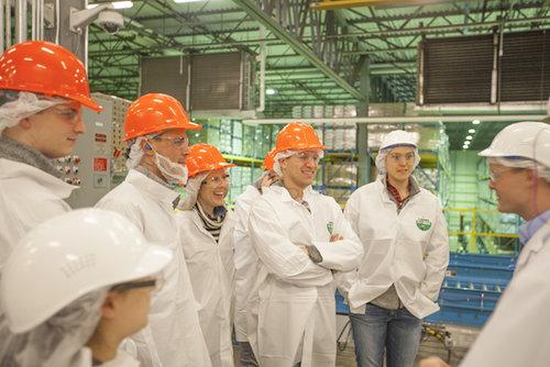 Factory tour of Chobani yogurt factory
