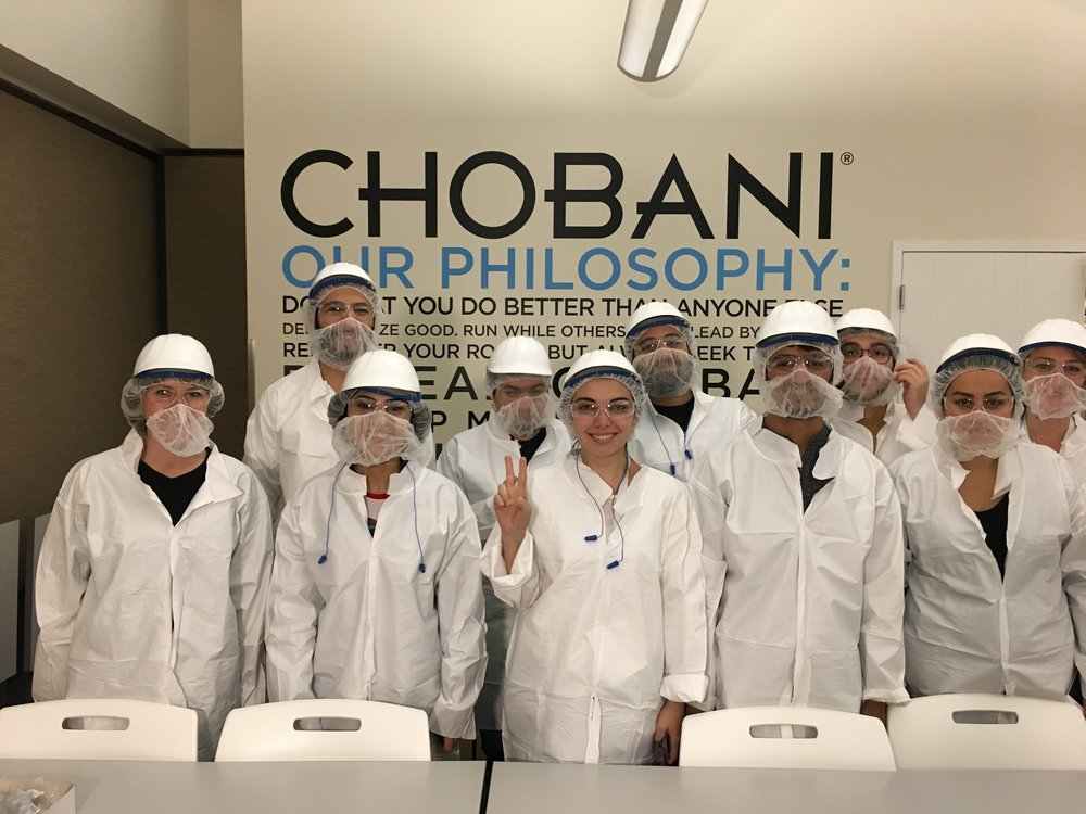 Factory tour of Chobani yogurt factory