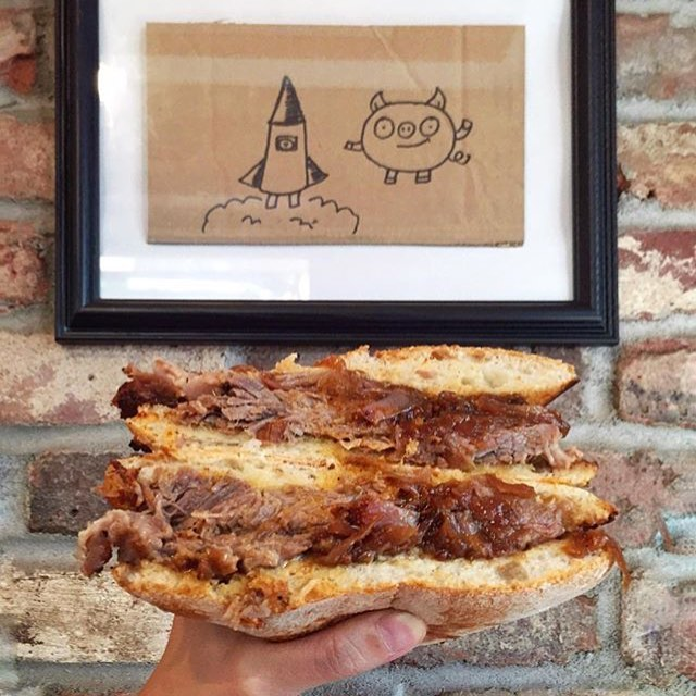 The sandwich. The myth. The legend. #Rocketpig #regram @a91787