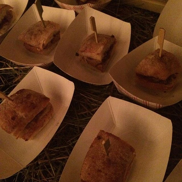 These little piggies have hot dates tonight at #nycwff2015 @trestleontenth