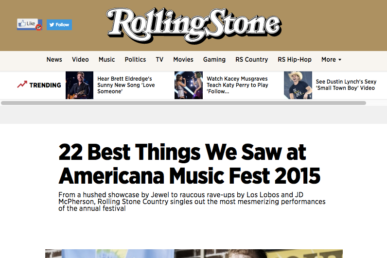 22 Best Things we saw at American Music Fest 2015 — Corb