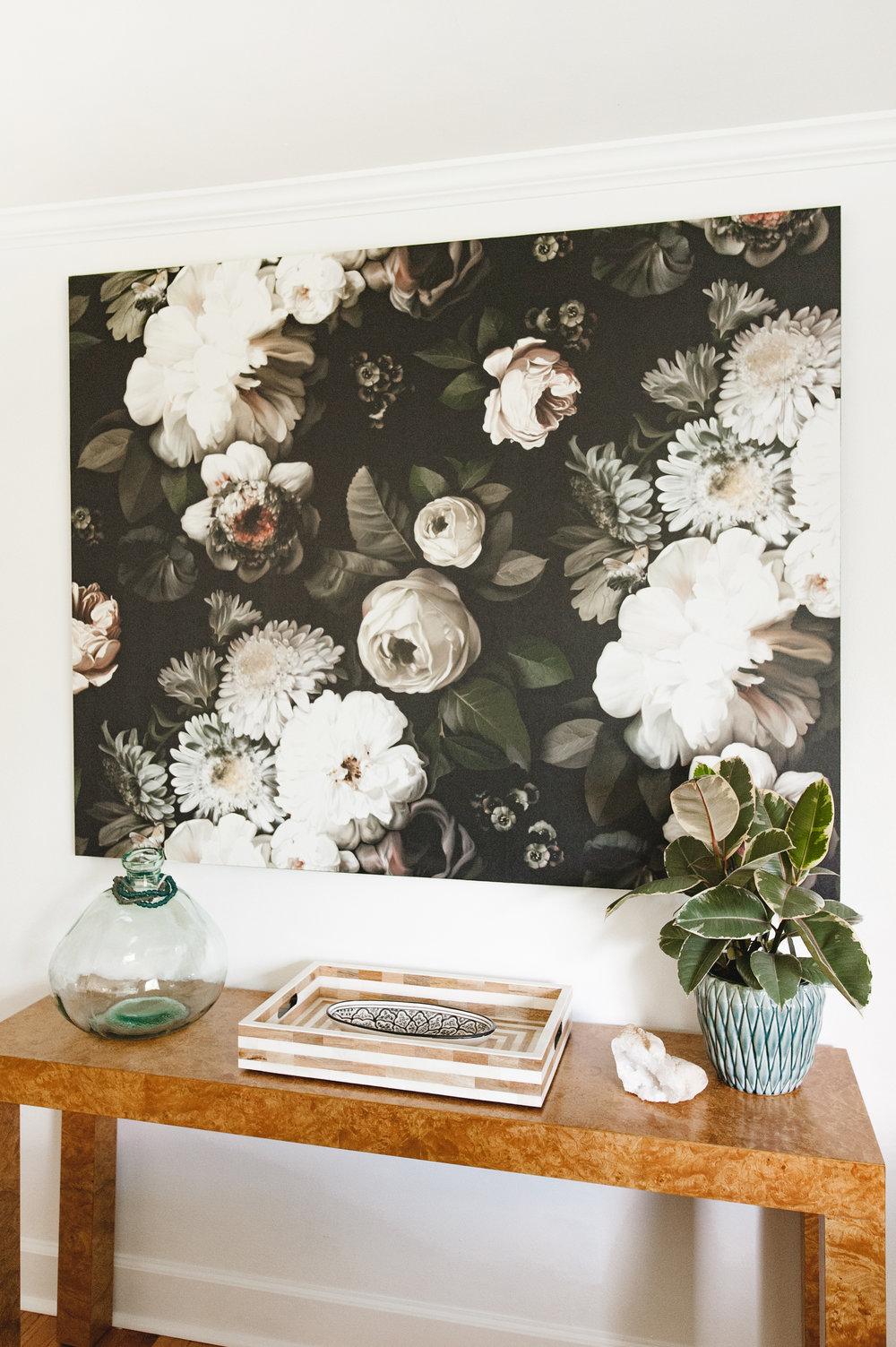DIY Artwork: Wallpaper Without the Commitment