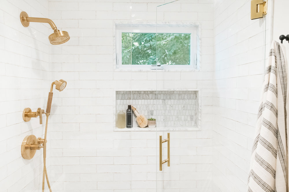 Cohesively Curated Shower Design
