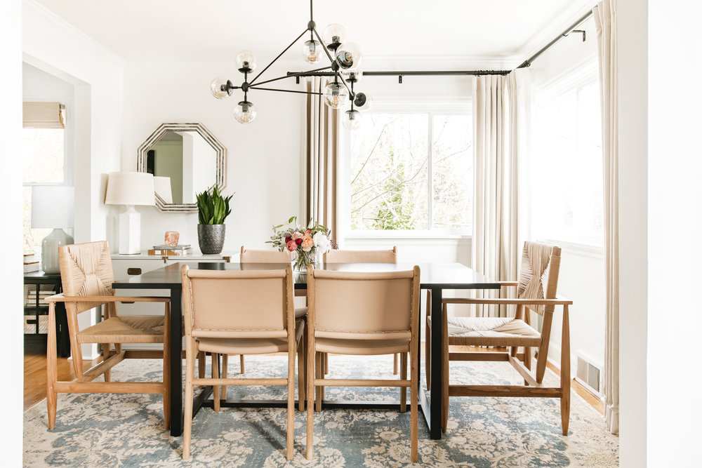 Cohesively Curated Dining Room Design