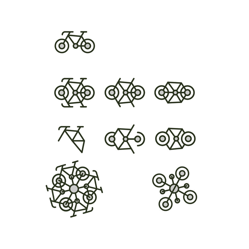 Fiddling with the bicycle icon