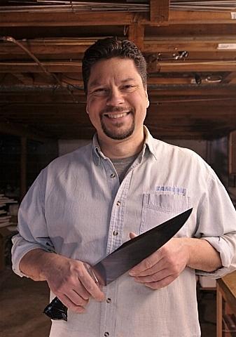 Marc Aldrich, knifemaker