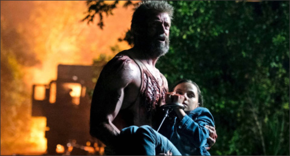 Hugh Jackman reprises his role as Wolverine for the last time alongside co-star Dafne Keen, who plays the role of his daughter Laura, in 'Logan,' out now in theaters.  Internet Photo