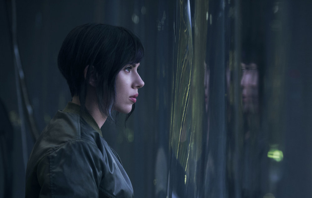 "Scarlet Johansson stars as the Major, a cyberbetic super-soldier in the live action remake ""Ghost in the Shell.""  Internet Photo"
