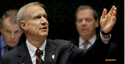 Internet Photo - Illinois Governer Bruce Rauner and the democratic house are at odds with a budget for MAP.