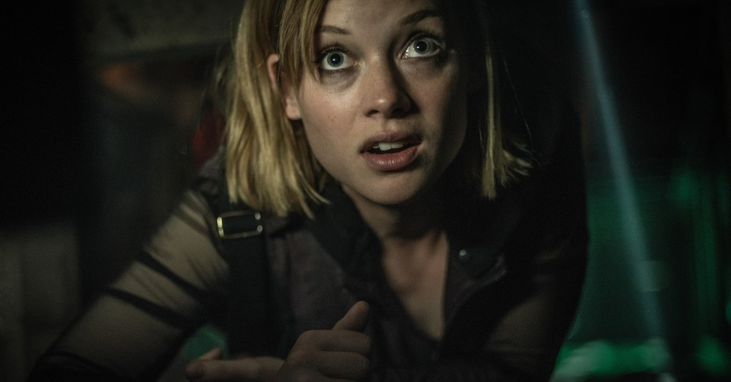 "Jane Levy stars at Rocky in ""Don't Breathe"", a horror movie out now in theatres. (Internet photo)"