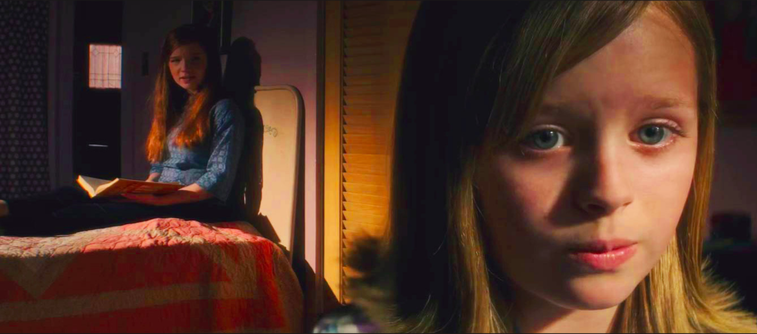 "Child actress Lulu Wilson plays Doris Zander, a girl possessed by the spirit of a Ouija Board, in ""Ouija: Origins of Evil."" (Internet Photo)"
