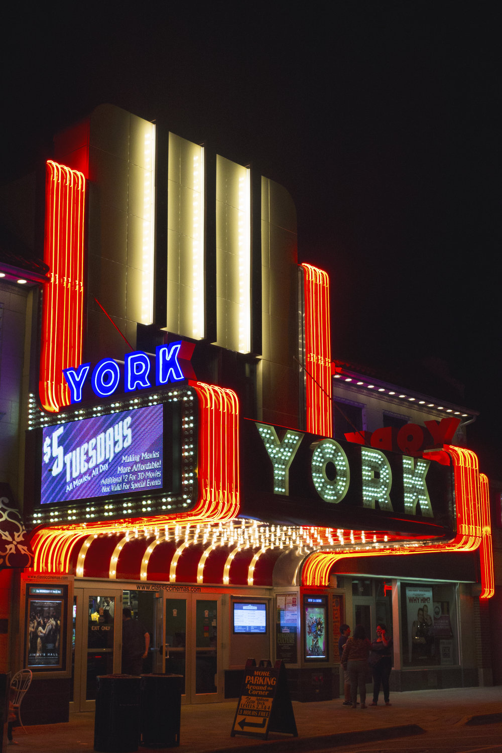 The York Theatre in downtown Elmhurst offers $5 movies all day every Tuesday.  File Photo