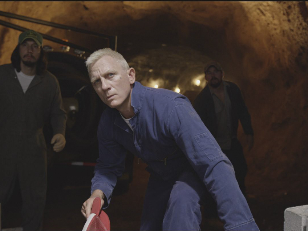 "Adam Driver, Daniel Craig and Channing Tatum (left to right) star as heist conspirators in Steven Soderbergh's 'Logan Lucky.""  Internet Photo"