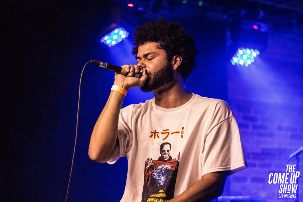 Ritchie with a T of the Arizona rap trio Injury Reserve performs at the Velvet Underground in Toronto.  Internet Photo
