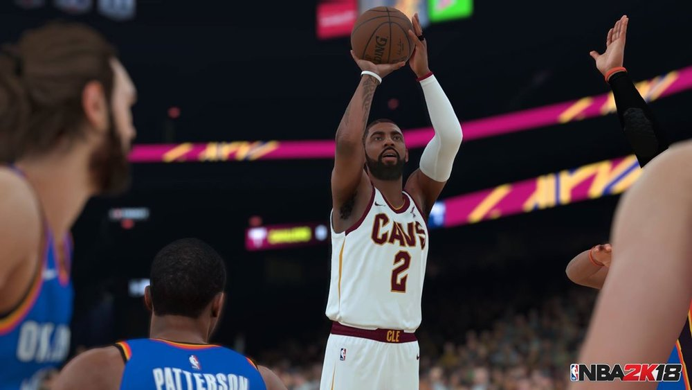 """NBA 2k18"" showcases its usual stellar graphics despite some gameplay shortcomings.  Internet Photo"