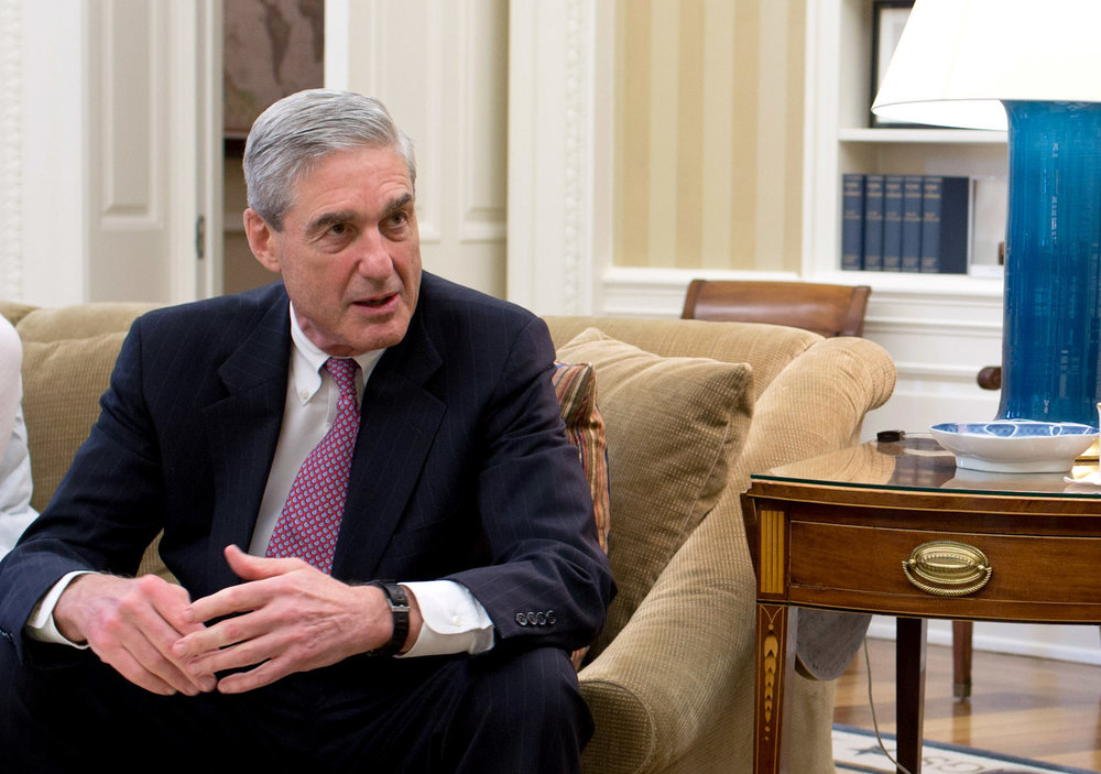 FBI special counselor Robert Mueller in June 2017 according to a report by the New York Times on Thursday, Jan. 25 while FBI was investigating Trump for obstruction of justice. Internet Photo