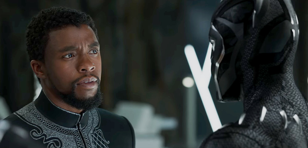 "Chadwick Boseman plays T'Challa, the newly anointed young king of the fictional nation of Wakanda in ""'Black Panther.""  Internet Photo"