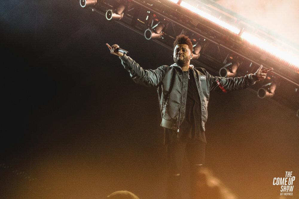 "Internet photo   Abel Tesfaye, aka The Weeknd performs as part of the ""Starboy"" tour in 2017."