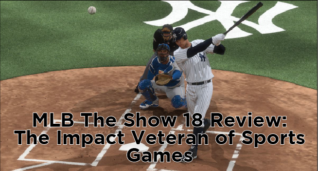 Internet Photo   Aaron Judge swings for the fences in gameplay from San Diego Studio's MLB The Show 18.