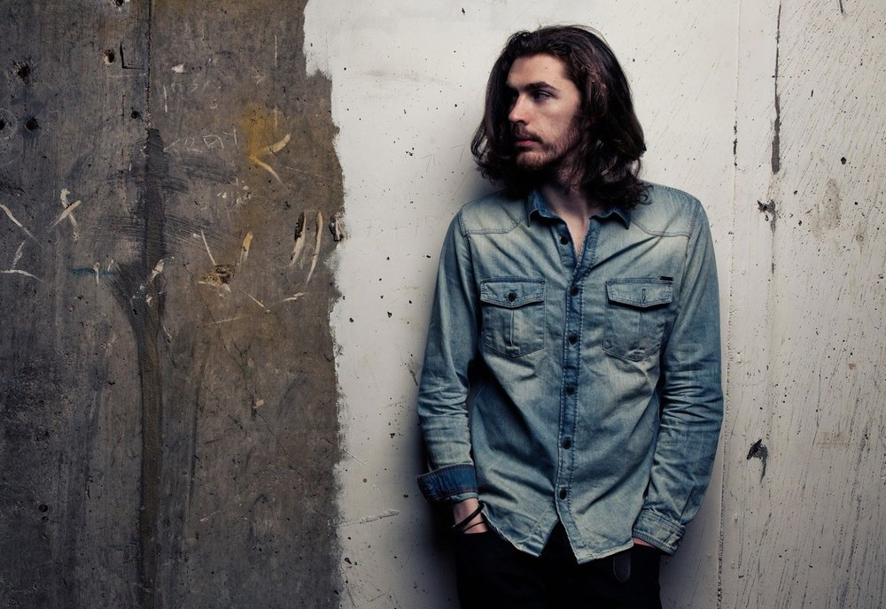 "Irish singer Hozier releases new album ""Nina Cried Power"". Image from Glitter Magazine"