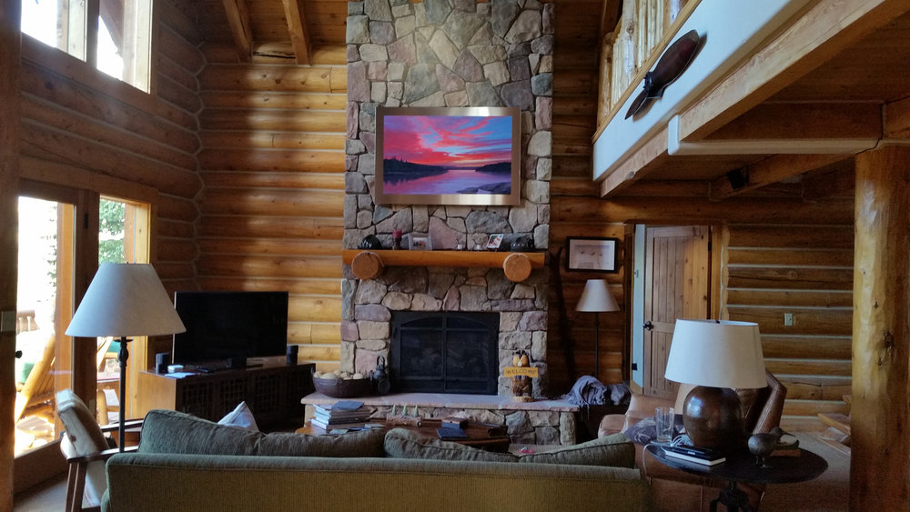 Magnetic North installed in Vail retreat (private collection)