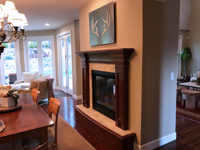 Antlers installed in Denver home (private collection)