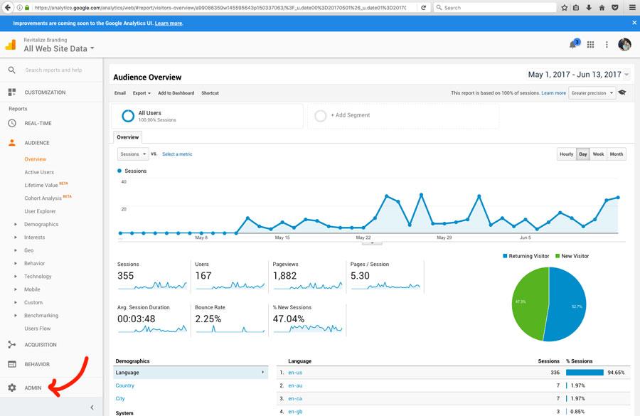 How to use Google Analytics - Revitalize Branding