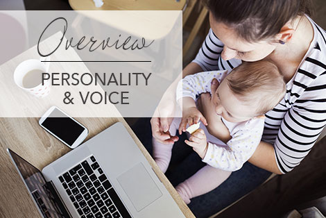 Personality & Voice - Overview Page - Revitalize Branding