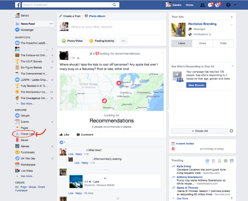 getting visible on Facebook - Revitalize Branding
