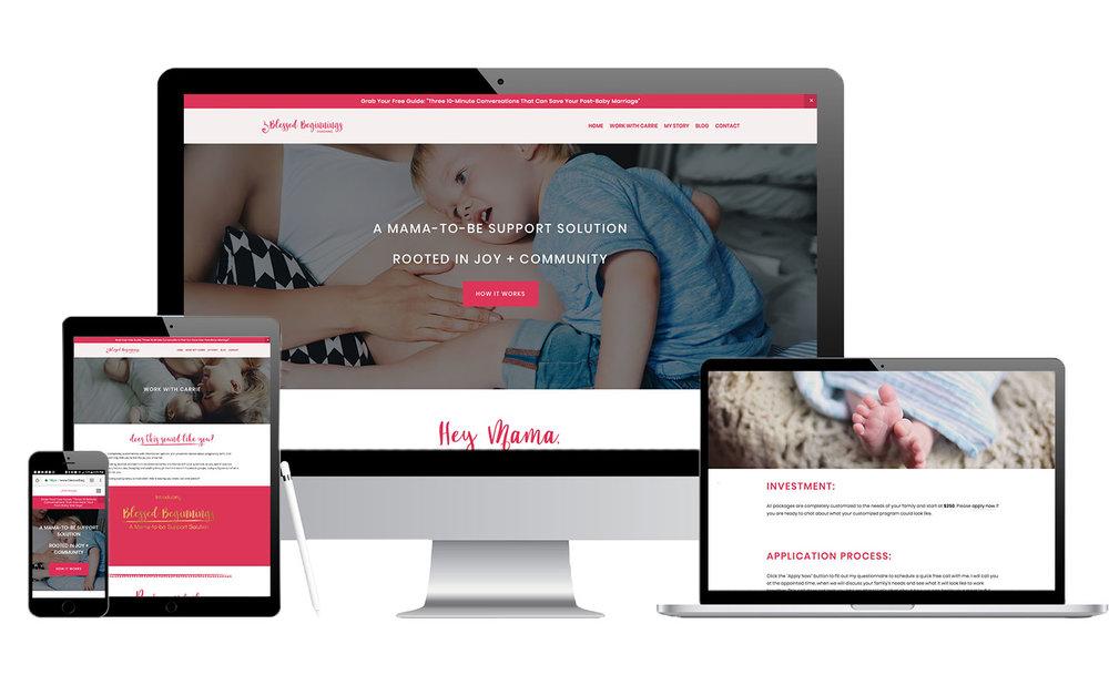 Female Entrepreneur Website Designer