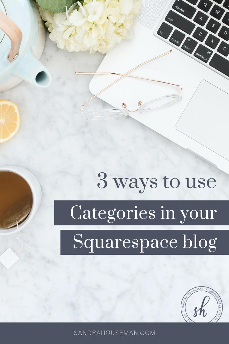 Squarespace blog categories