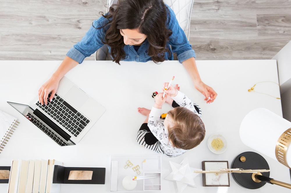 start a business with a newborn
