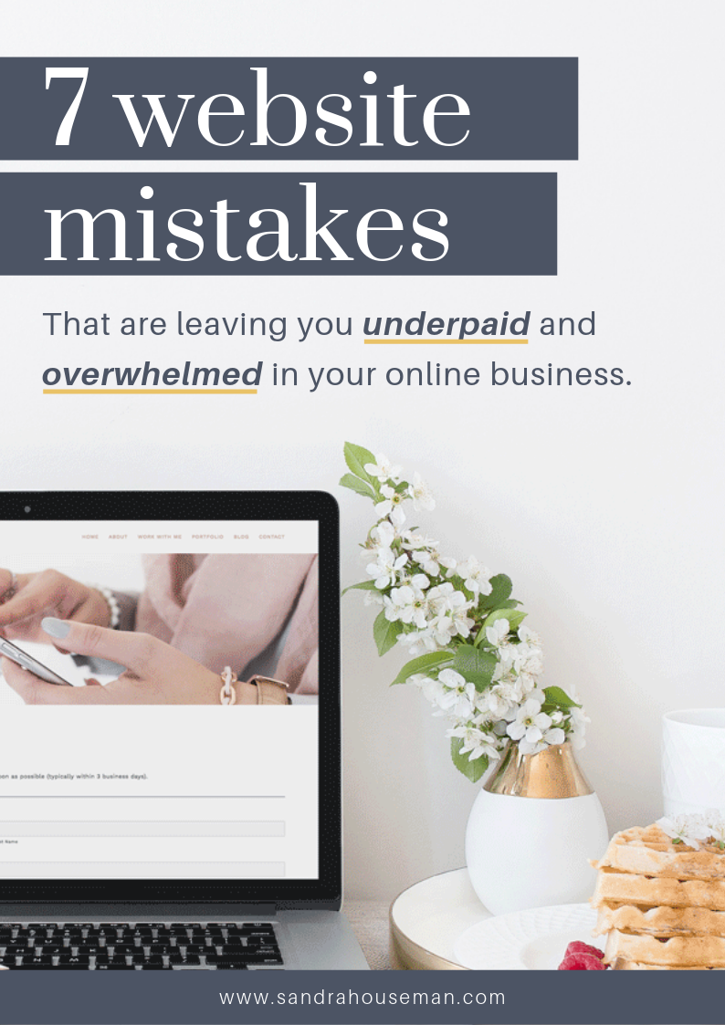 Sandra Houseman_7 common website mistakes