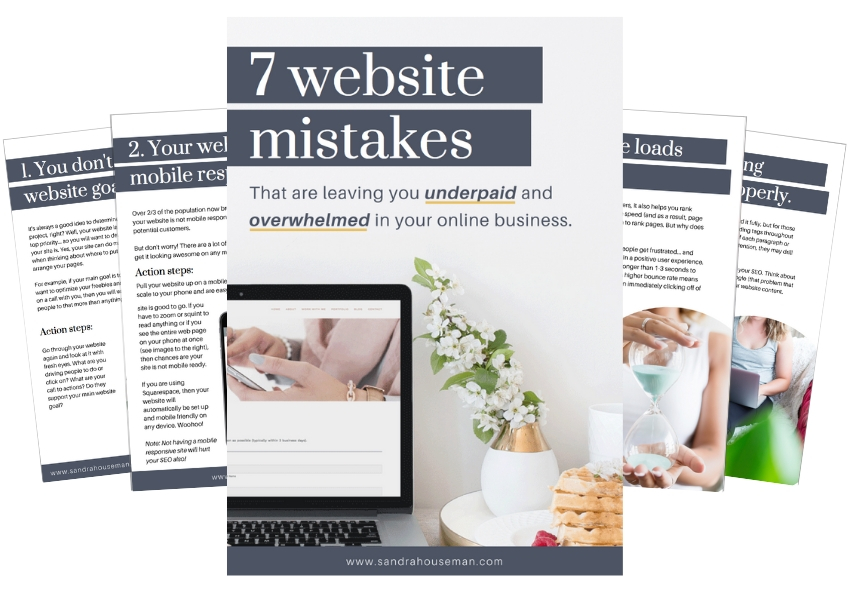 7 website mistakes image