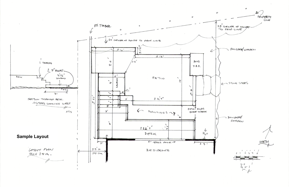 Sample Design Drawing, click to enlarge
