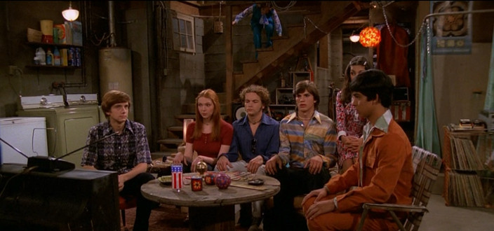 The infamous basement from That 70's Show is probably a pretty accurate depiction of the average family basement.