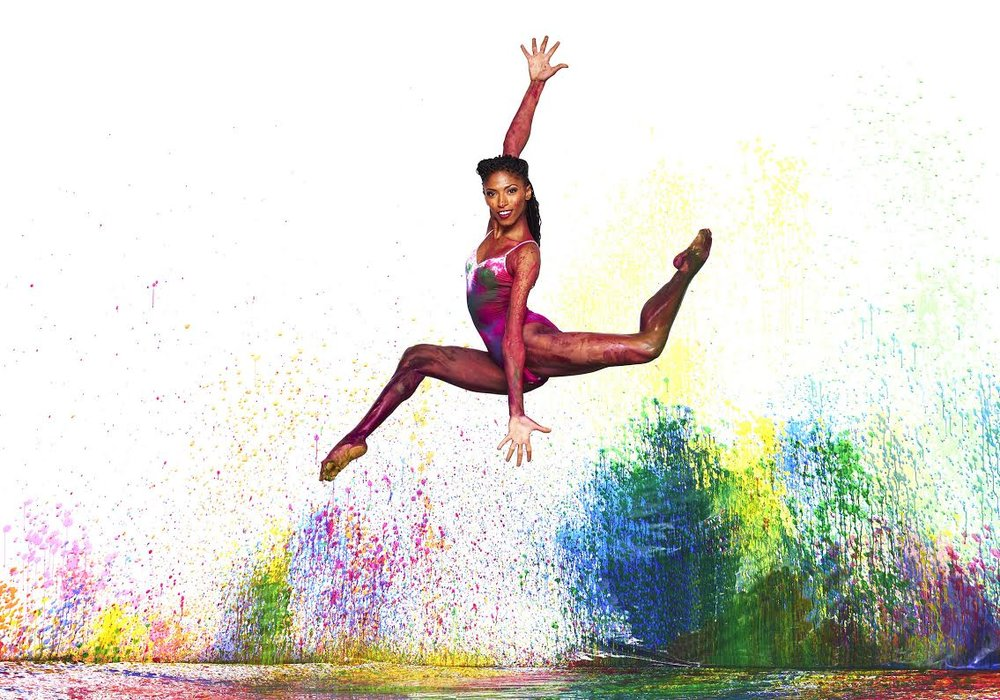 Alvin Ailey American Dance Theater's Jacqueline Green. Photo by Andrew Eccles
