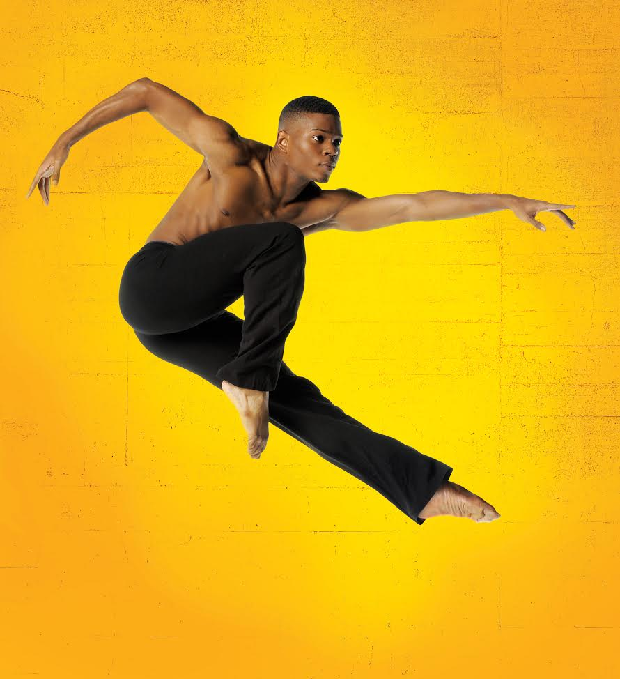 Solomon Dumas in Ailey II circa 2010. Photo by Eduardo Patino, NYC.