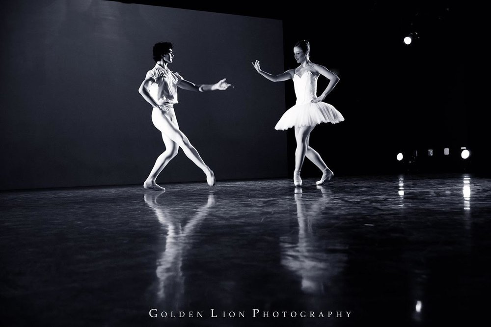 Thomas Harrison and Angela Bishop, Boston Ballet II. Golden Lion Photography