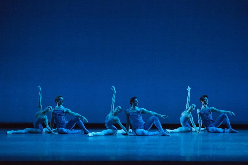 Boston Ballet in Jorma Elo's Creatures of Egmont; photo by Igor Burlak Photography, courtesy Boston Ballet