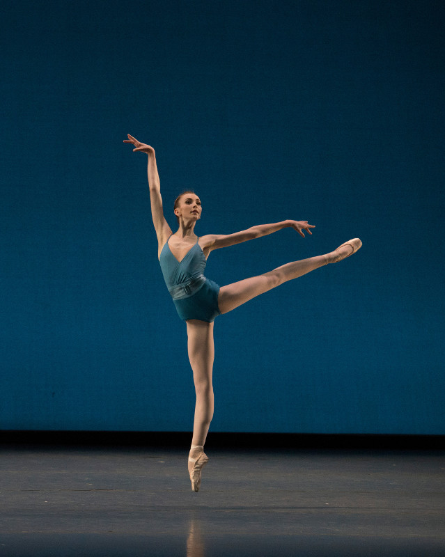 Addie Tapp in Jorma Elo's Creatures of Egmont_ photo by Igor Burlak Photography, courtesy Boston Ballet