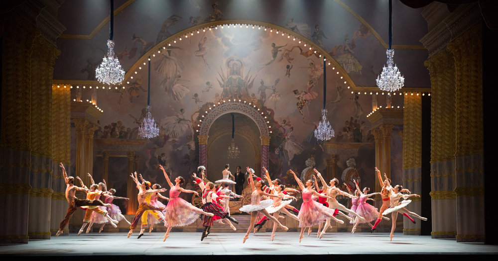 Boston Ballet in Mikko Nissinen's  The Nutcracker;  photo by Rosalie O'Connor, courtesy Boston Ballet