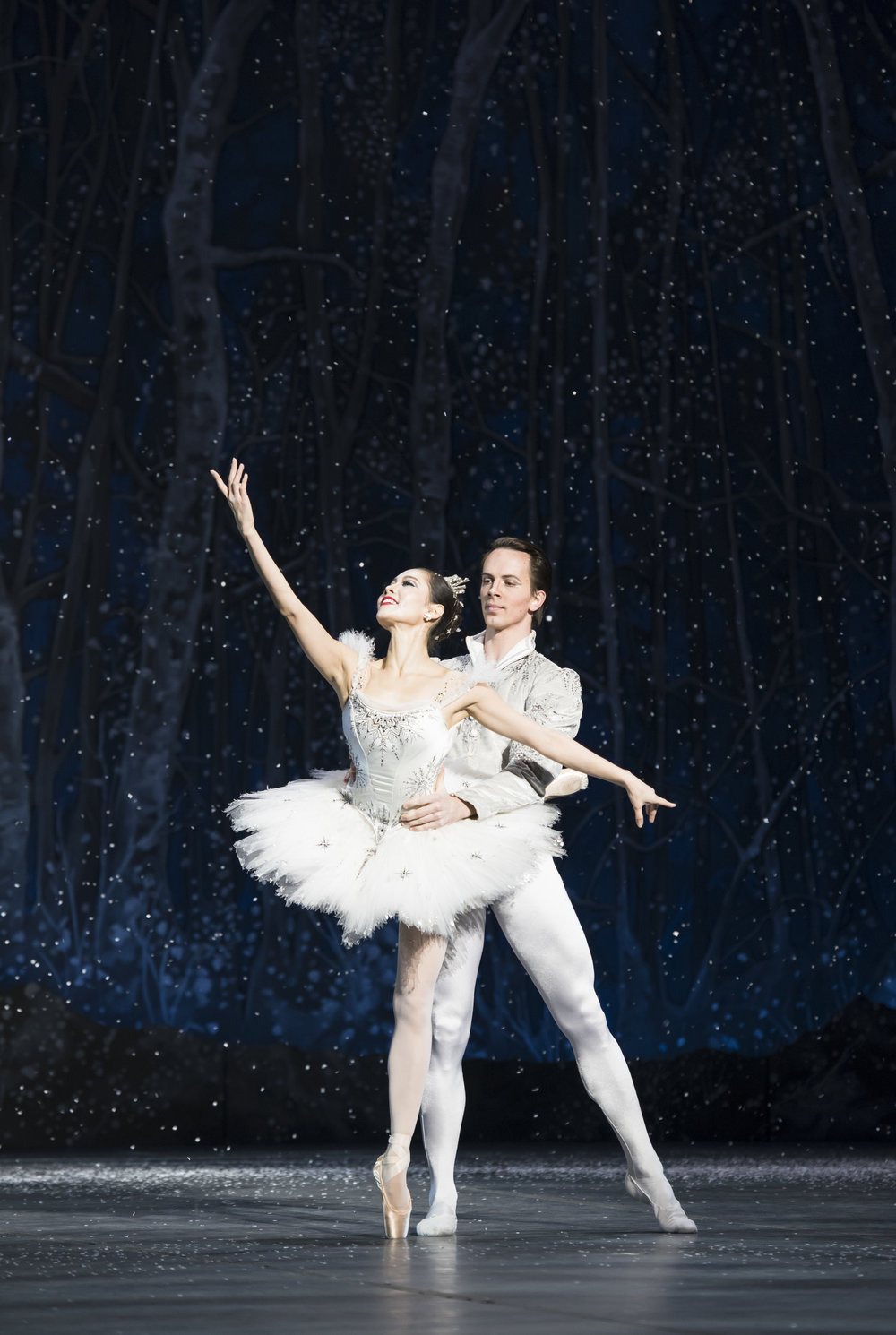 Seo Hye Han and Paul Craig in Mikko Nissinen's  The Nutcracker _ photo by Liza Voll, courtesy Boston Ballet