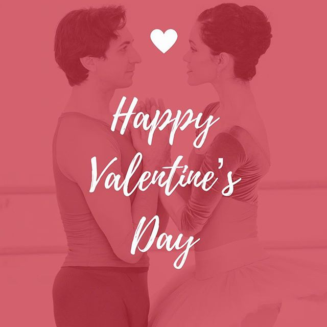 Happy Valentine's Day! #couplegoals brought to you by one of the cutest ballet duos ever, @erisnezha and @petraconti 💕❤️🌹💋 . . . 📷: @vargaimages
