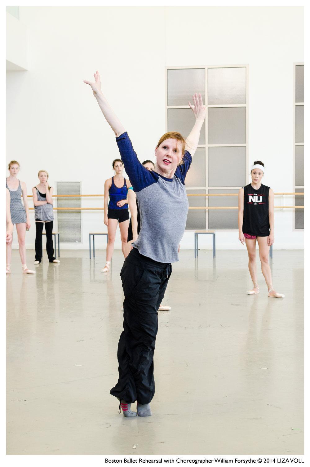 Jill Johnson rehearsing with Boston Ballet;photo by Liza Voll Photography, courtesy of Boston Ballet
