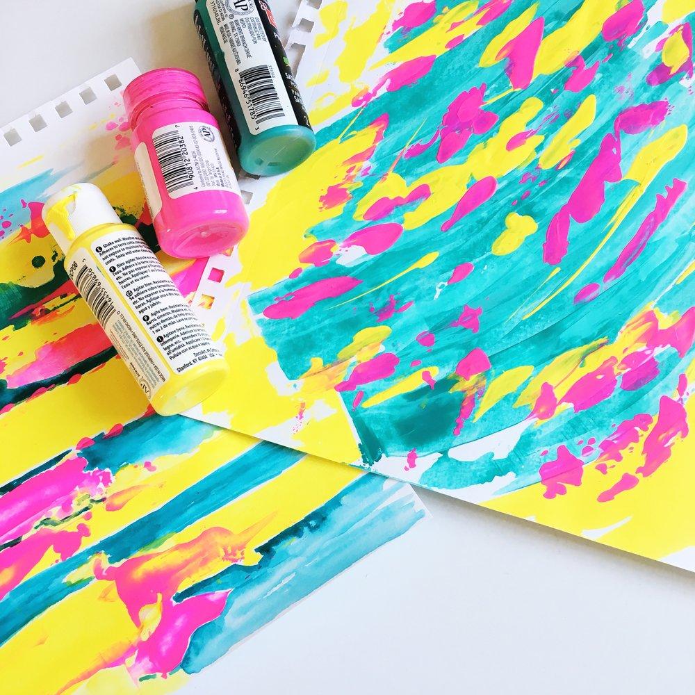 Everyday Joy Art creation