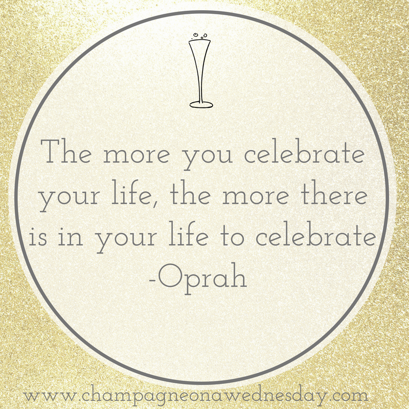 Oprah quote about celebration